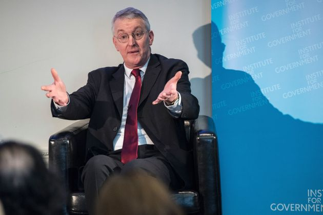 Labour MP Hilary Benn, the remainer who chairs the Brexit Select Committee