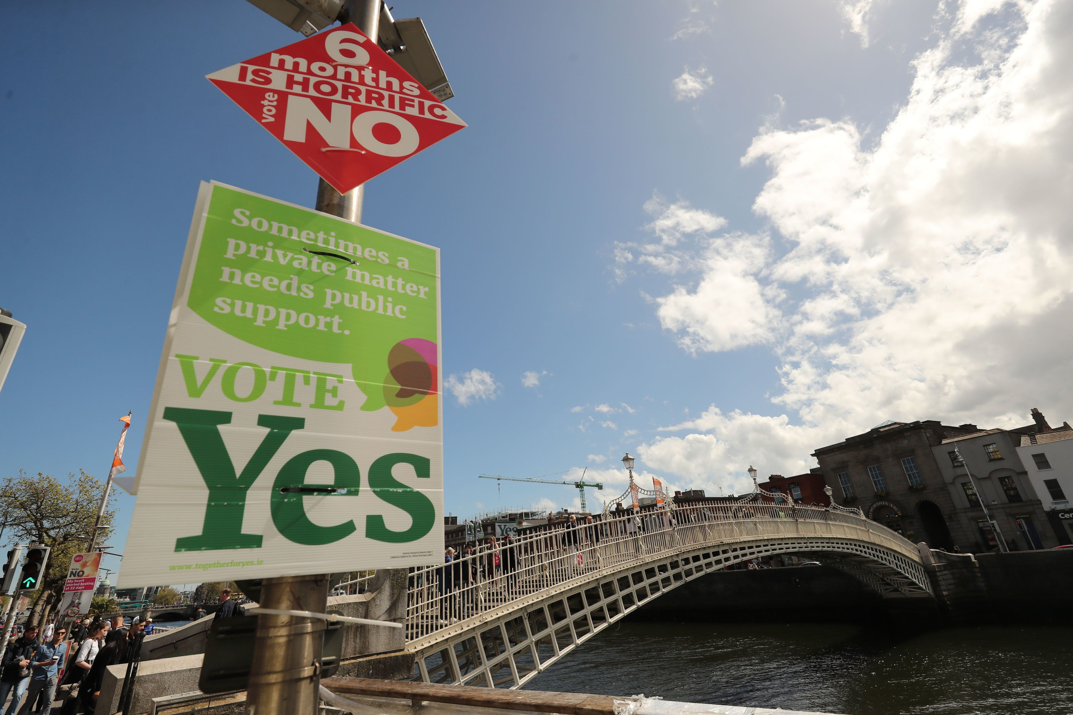 All eyes on Roscommon in Irish abortion vote
