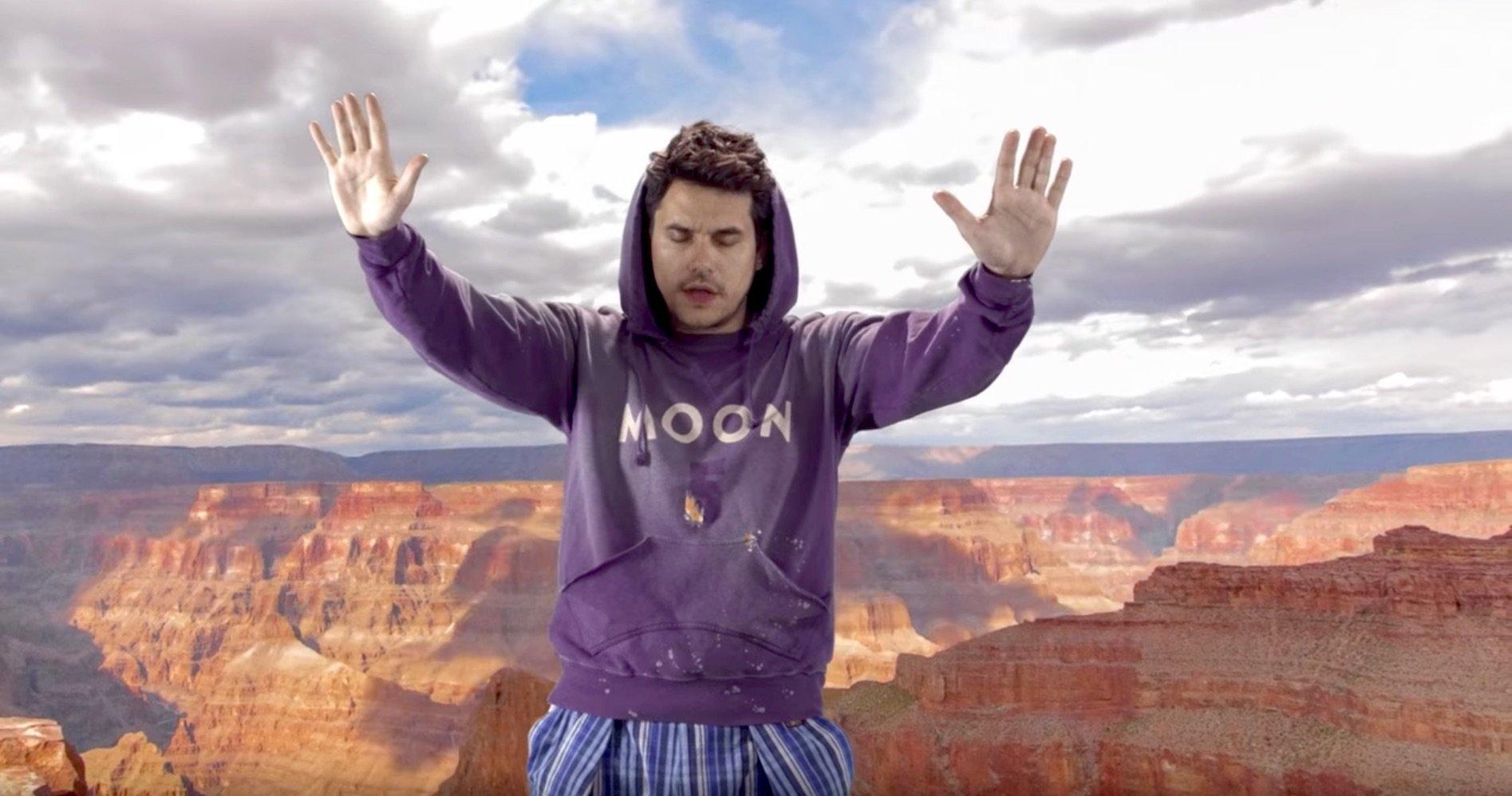 John Mayer's Weird New Low-Budget Video Is A Meme-Worthy