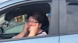이 운전자가 한국계 미 군인을 '찢어진 눈'으로 조롱하며 한