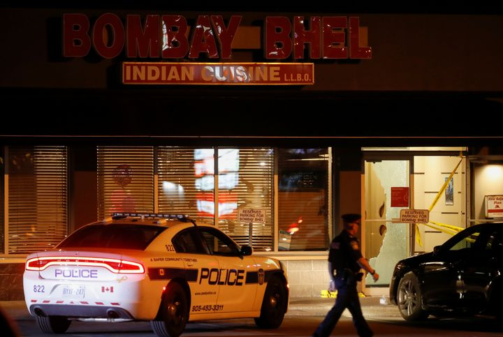 Two unidentified men set off a bomb late Thursday night at the Bombay Bhel restaurant in Mississauga, Ontario, Canada. More t