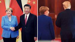 China oder USA: Merkel steht vor einer schicksalhaften