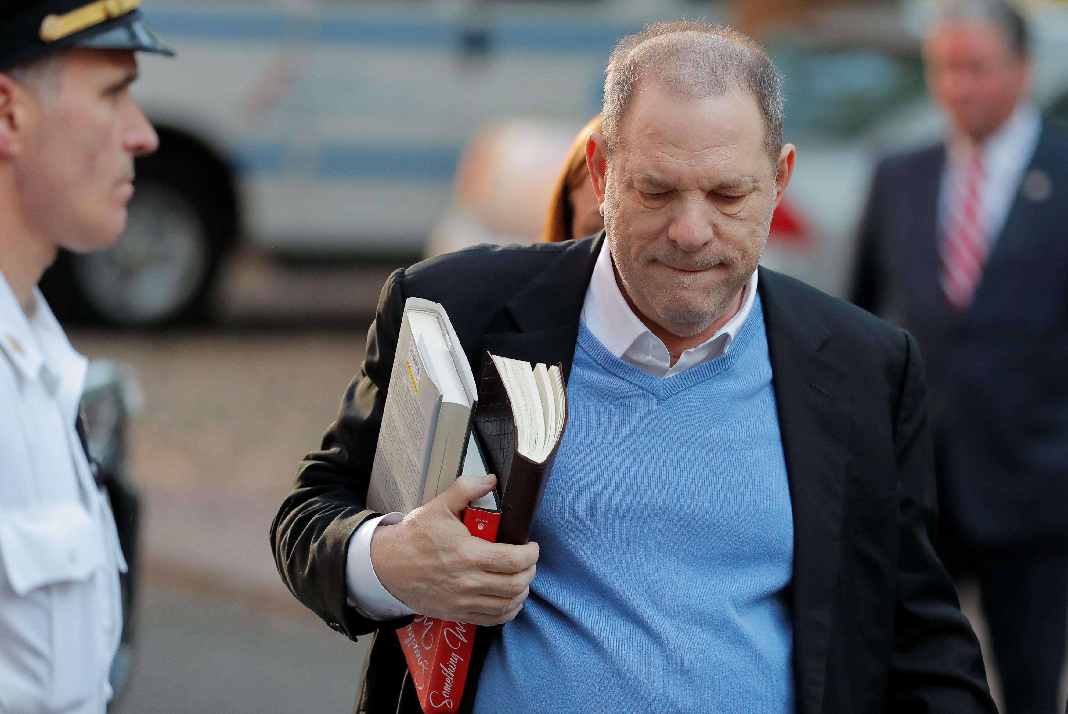 Harvey Weinstein Turns Himself In, Appears In Court On Rape