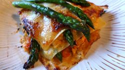 Seafood And Asparagus Lasagne