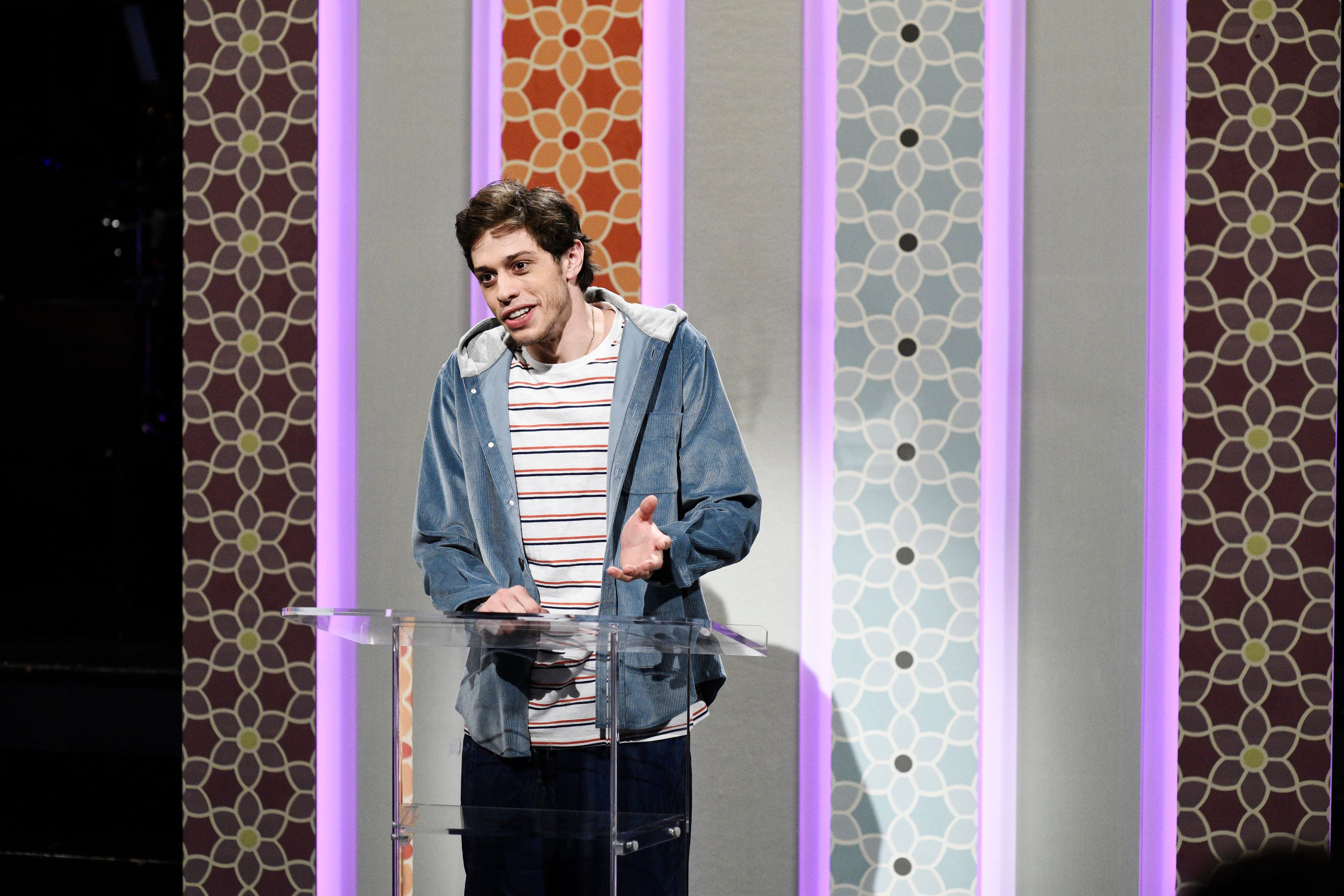 Pete Davidson hits back at trolls over dating with mental illness