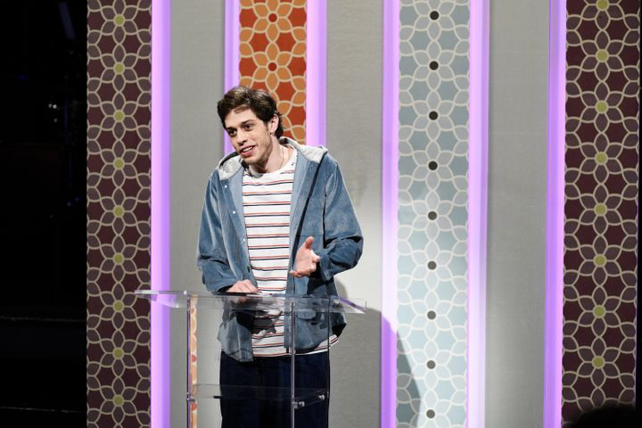 """Just because someone has a mental illness does not mean they can't be happy and in a relationship,"" Pete Davidson says"