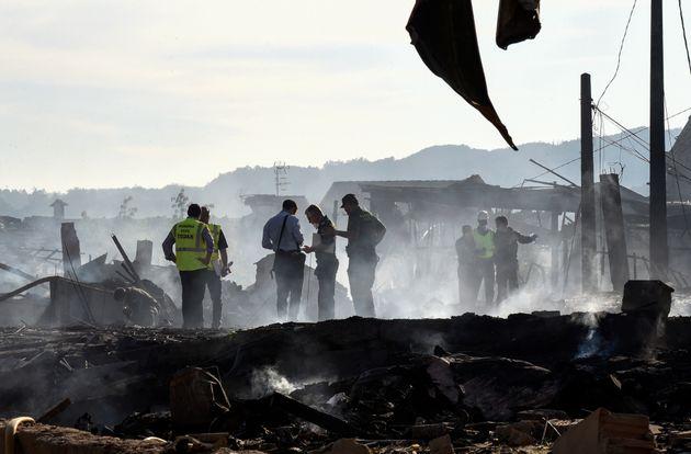 Espagne: un couple marocain mort dans l'explosion d'un dépôt illégal de matériel de