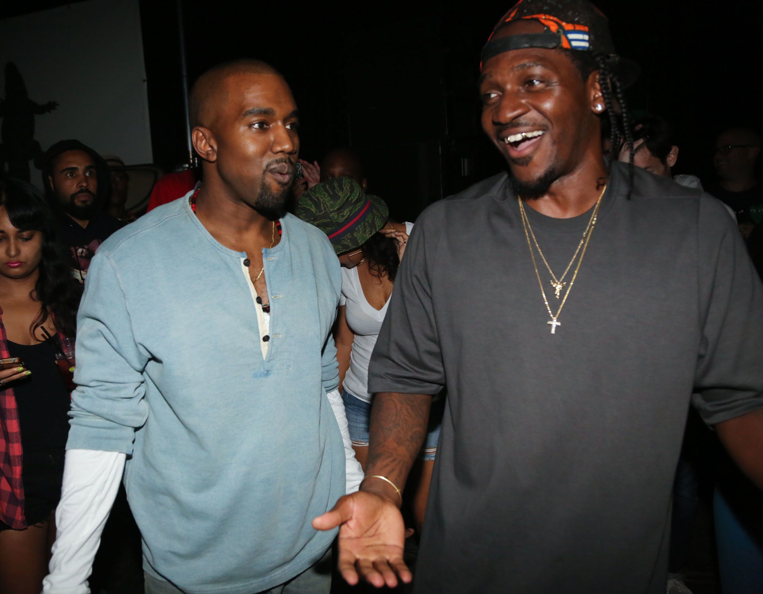Pusha T Delivers With New Kanye West-Produced Album 'DAYTONA'