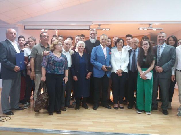 Ολοκληρώθηκε η τελετή βράβευσης Ελλήνων για τη διάσωση Εβραίων, παρουσία του Μακαριωτάτου κκ.