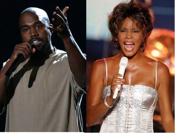 Kanye West Spent 85 000 On Photo Of Whitney Houston S