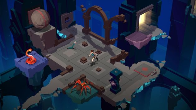 Lara Croft GO Is A Beautiful, Fun Puzzle Game That Reimagines An