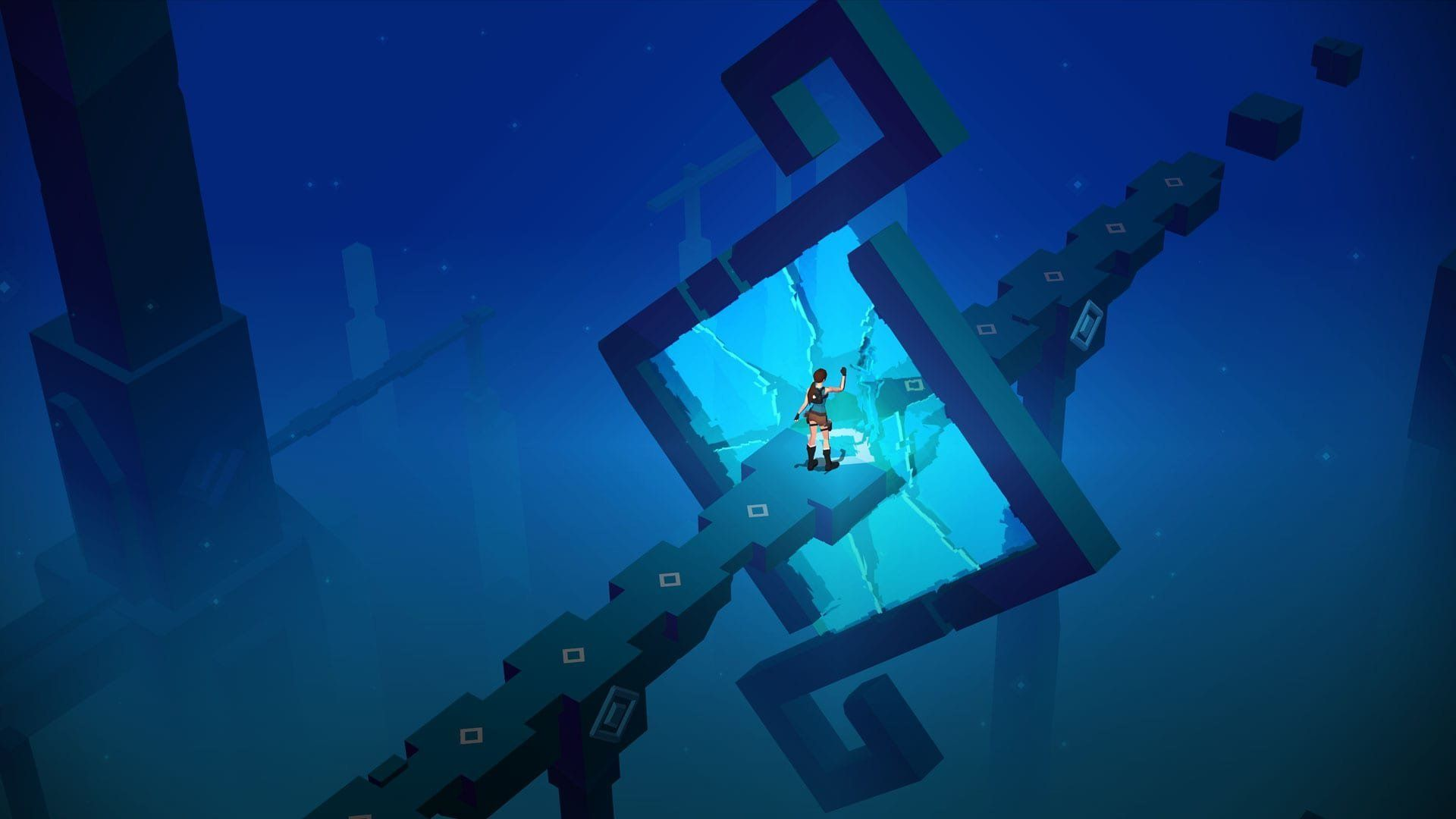 Lara Croft GO Is A Beautiful, Fun Puzzle Game That Reimagines A Video Game
