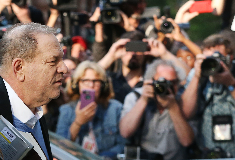 The Joy Of Watching Harvey Weinstein's Perp