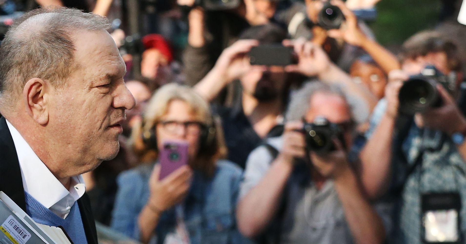 The Joy Of Watching Harvey Weinstein's Perp Walk