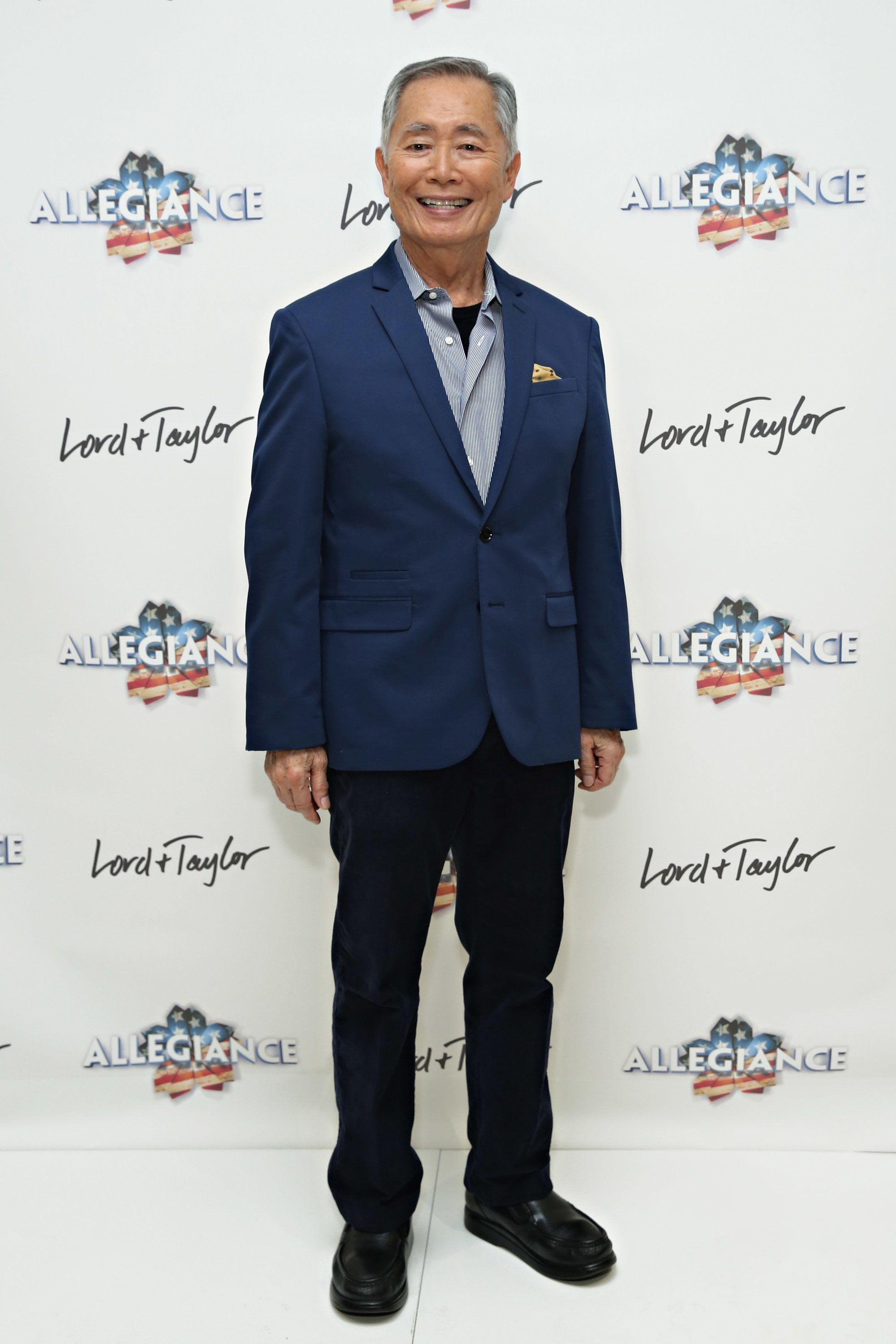 NEW YORK, NY - DECEMBER 14:  Actor George Takei attends the Allegiance cast meet and greet at Lord & Taylor on December 14, 2015 in New York City.  (Photo by Cindy Ord/Getty Images for Lord & Taylor)