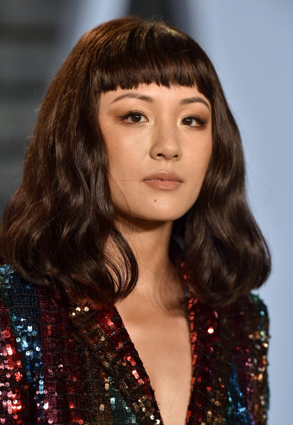 Not many people can pull offshort bangs, butConstance Wu really rocks them. If you're feeling a little adventurou