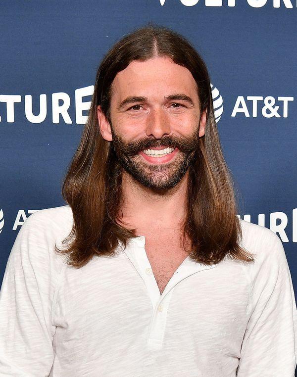 Jonathan Van Nessis another great example of how long hair and a beard can work wonderfully on men. And he's clearly fo