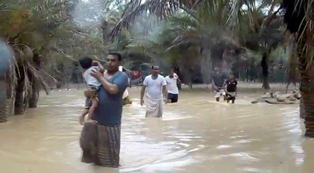 Πέντε νεκροί και 40 αγνοούμενοι από κυκλώνα στην Υεμένη