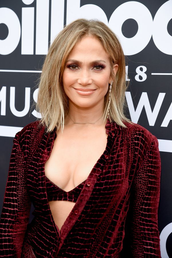 Go for something sleek and simple, like Jennifer Lopez's blond lob.