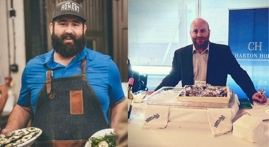 Maxime Daigle and Allain Savoie represent a new generation of shellfish processing entrepreneurs at La Maison BeauSoleil.