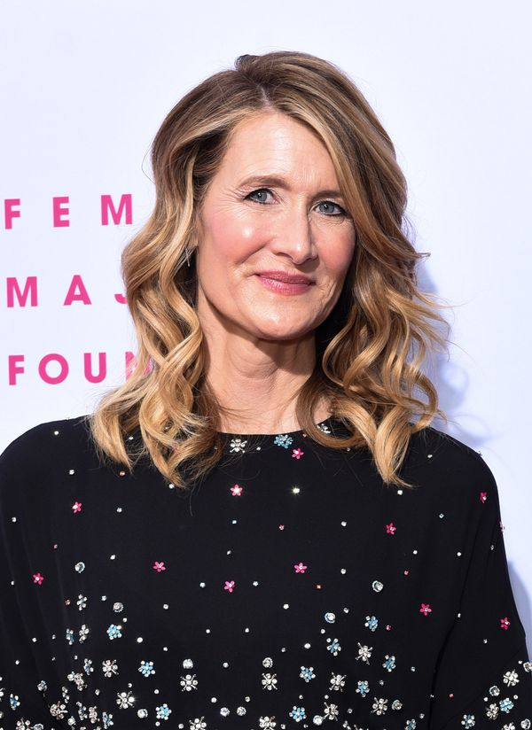 Laura Dern's bouncy curls are another fun and flirty style, great for any occasion.