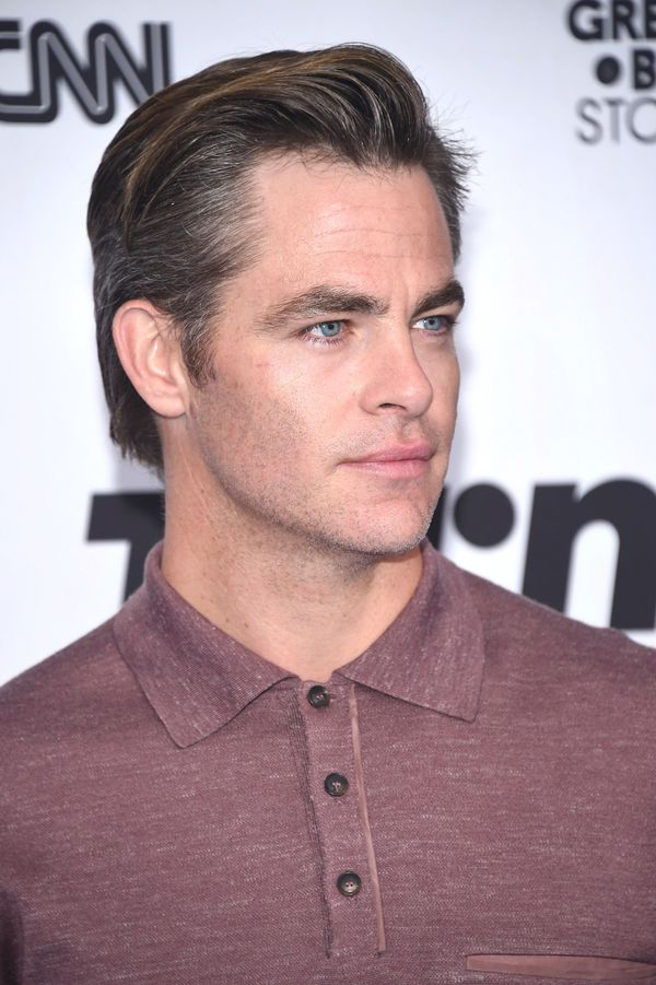 Chris Pine's classic cut is a good choice for anyone who's looking for a clean and simple style.