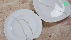 Avec le kintsugi, ne jetez plus votre vaisselle cassée, transformez-la en magnifique