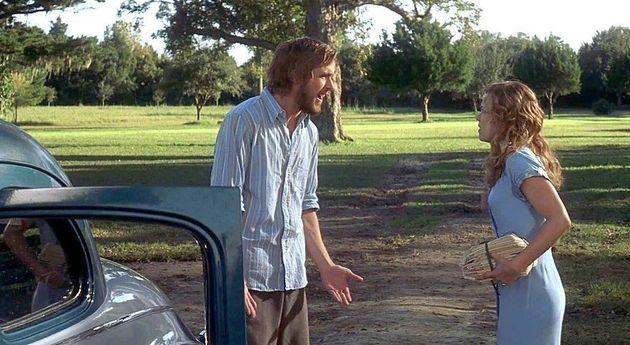 로맨스 영화 '노트북'(2004)의 주인공 노아(라이언 고슬링)와 앨리(레이첼