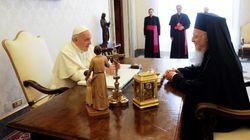 Συνάντηση Βαρθολομαίου με πάπα Φραγκίσκο στο Βατικανό: Τα τελευταία χρόνια ζήσαμε μια τεράστια οικονομική