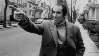 Author, Philip Roth, revisiting areas where he grew up.  (Photo by Bob Peterson/The LIFE Images Collection/Getty Images)
