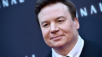 HOLLYWOOD, CA - MAY 08:  Actor Mike Myers attends the premiere of RLJE Films' 'Terminal' at ArcLight Cinemas on May 8, 2018 in Hollywood, California.  (Photo by Axelle/Bauer-Griffin/FilmMagic)