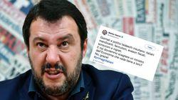 Italo-Populist Salvini wettert auf Twitter gegen Deutschland