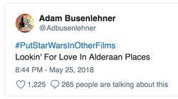Twitter #PutStarWarsInOtherFilms And It Was Universally