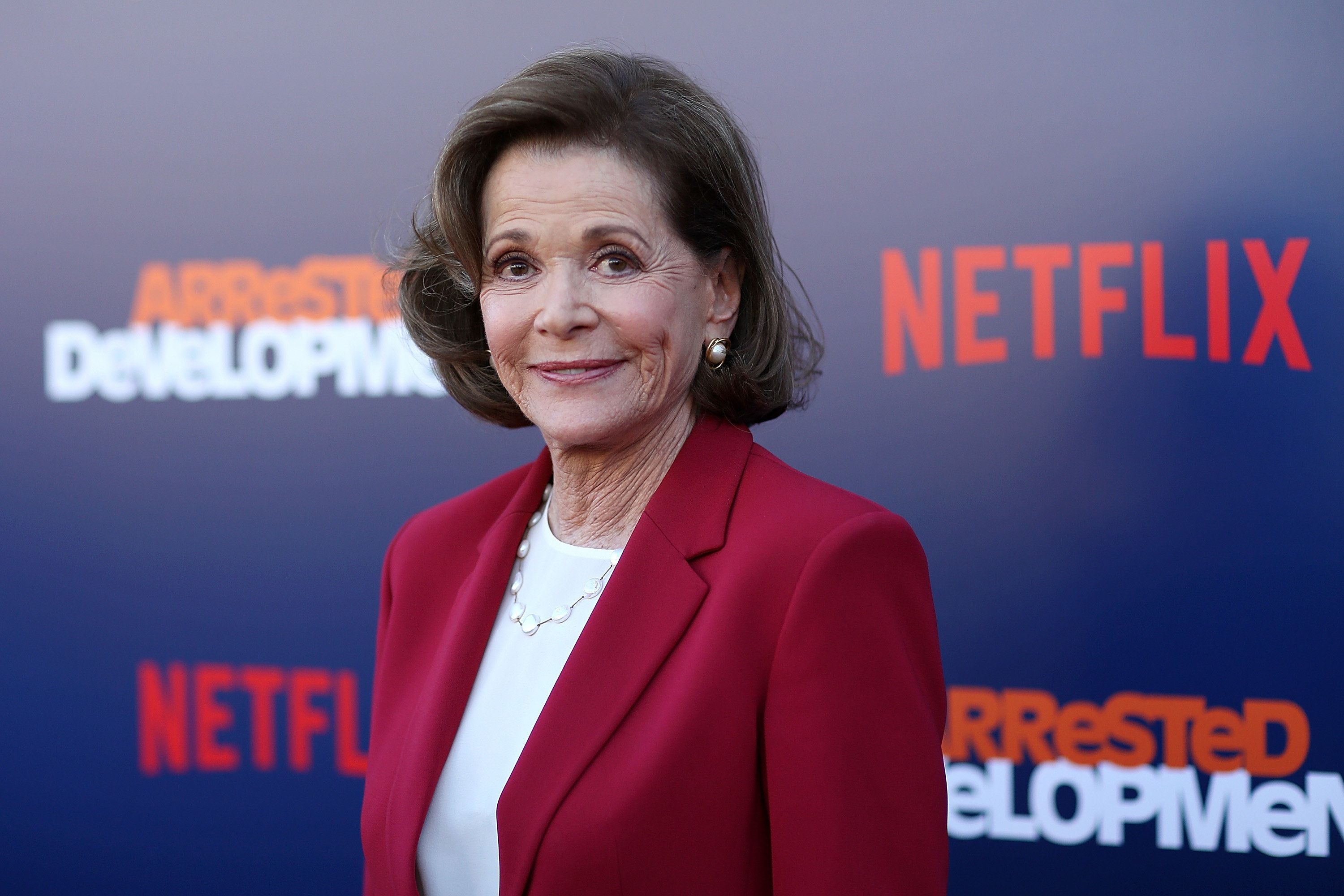 "Jessica Walter attends the premiere of Netflix's ""Arrested Development"" Season 5 in Los Angeles on May 17."