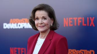 LOS ANGELES, CA - MAY 17:  Jessica Walter attends the premiere of Netflix's 'Arrested Development' Season 5 at Netflix FYSee Theater on May 17, 2018 in Los Angeles, California.  (Photo by Phillip Faraone/FilmMagic)