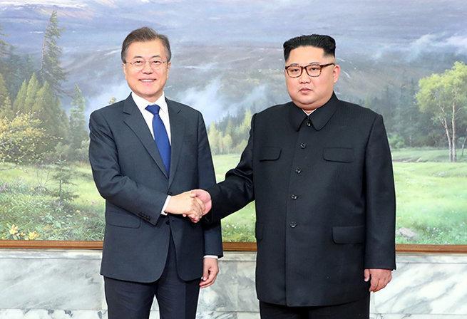 문대통령이 김정은 위원장 만나 강조한