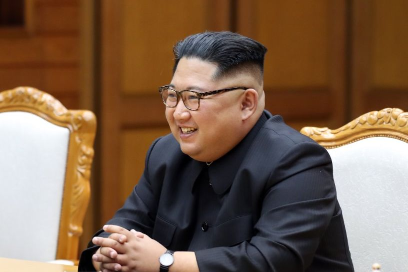 추가로 공개된 '문재인-김정은 깜짝 정상회담' 사진