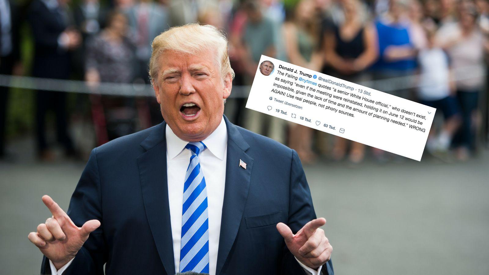 Trump-Team reist zur Gipfelvorbereitung nach Singapur
