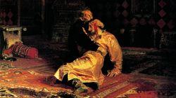 Σοβαρή ζημιά στον πίνακα «Ιβάν ο τρομερός και ο γιος