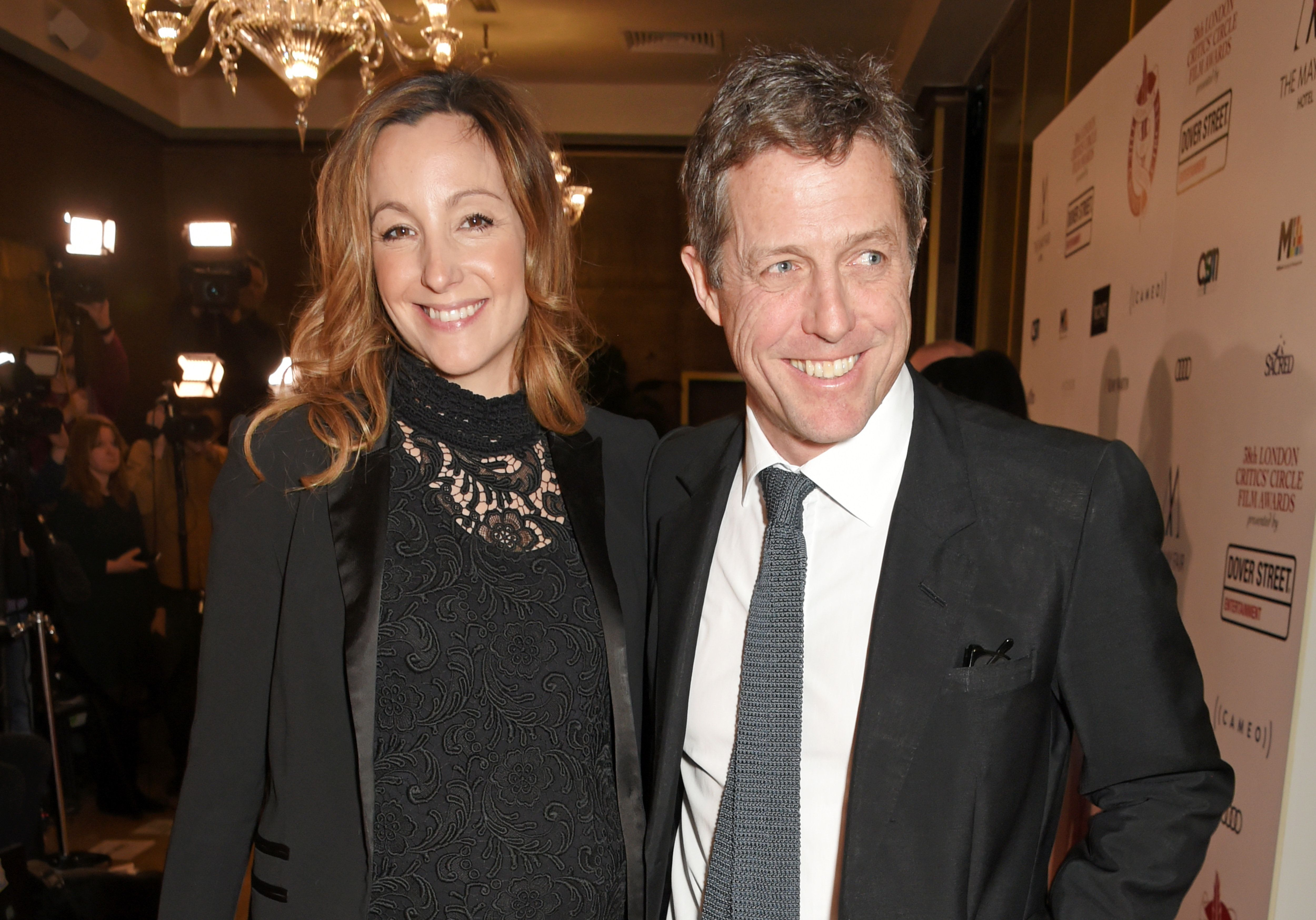 Hollywood star Hugh Grant marries Swedish producer Anna Eberstein, see pics
