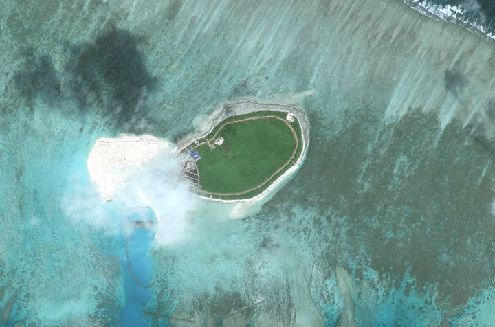 Tree Island is one of the main islands of the Paracel Islands group in the South China Sea.
