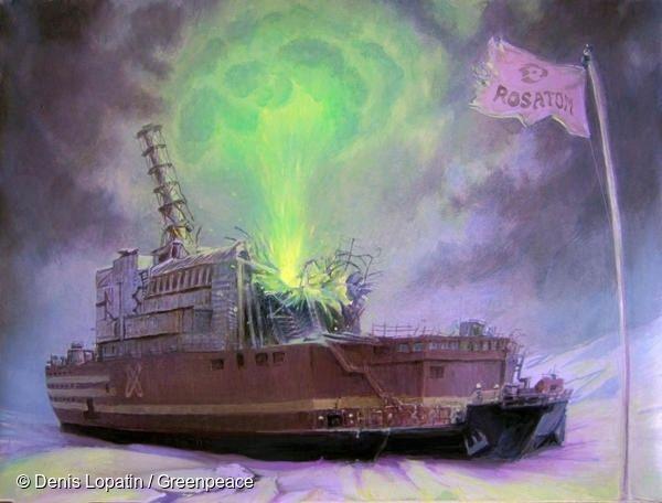 세계 최초의 해상 부유식 원자력발전소는 떠다니는 체르노빌과 별반 다를 게
