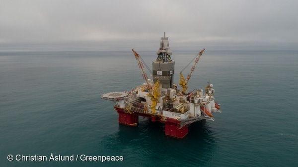 북극해에서 이뤄지고 있는 석유