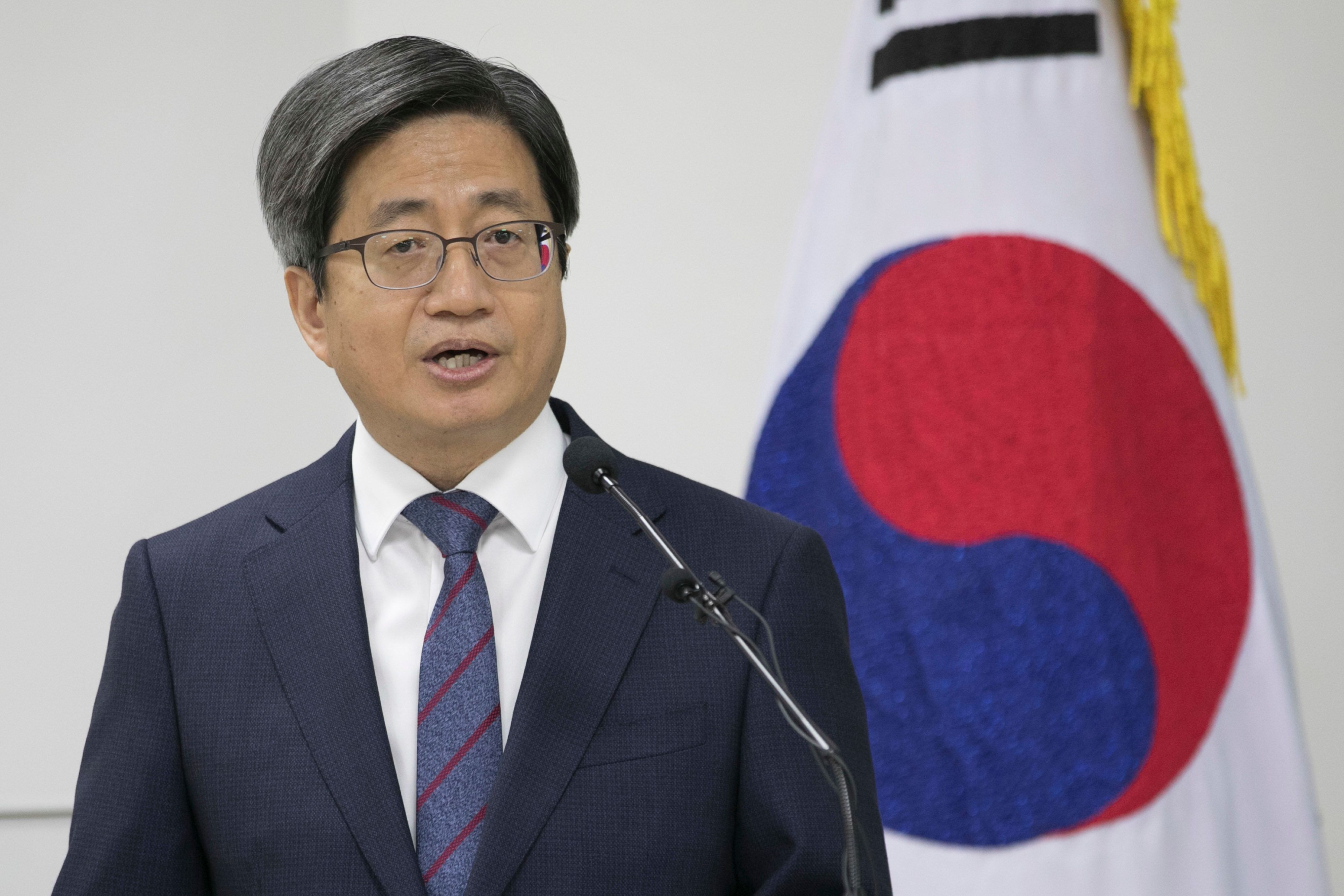 양승태 대법원의 '재판거래' 의혹에 대해 김명수 대법원장이 입장을 밝혔다