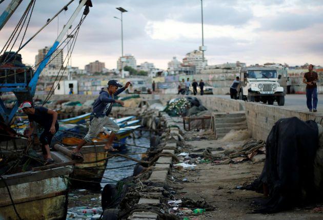 Un bateau partira de Gaza mardi pour briser le blocus