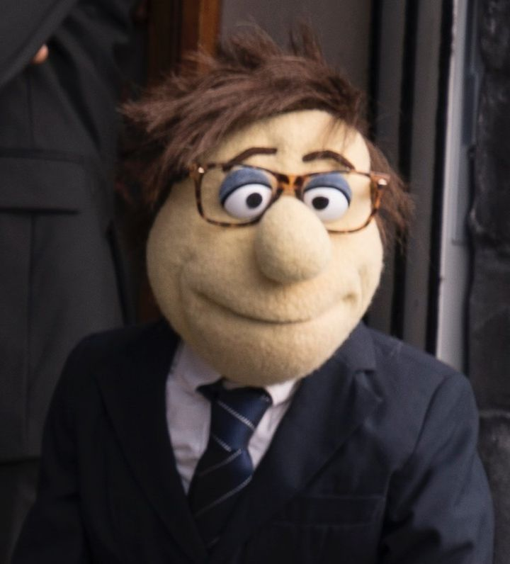 Fred, Esq., the puppet lawyer representing STX Entertainment.