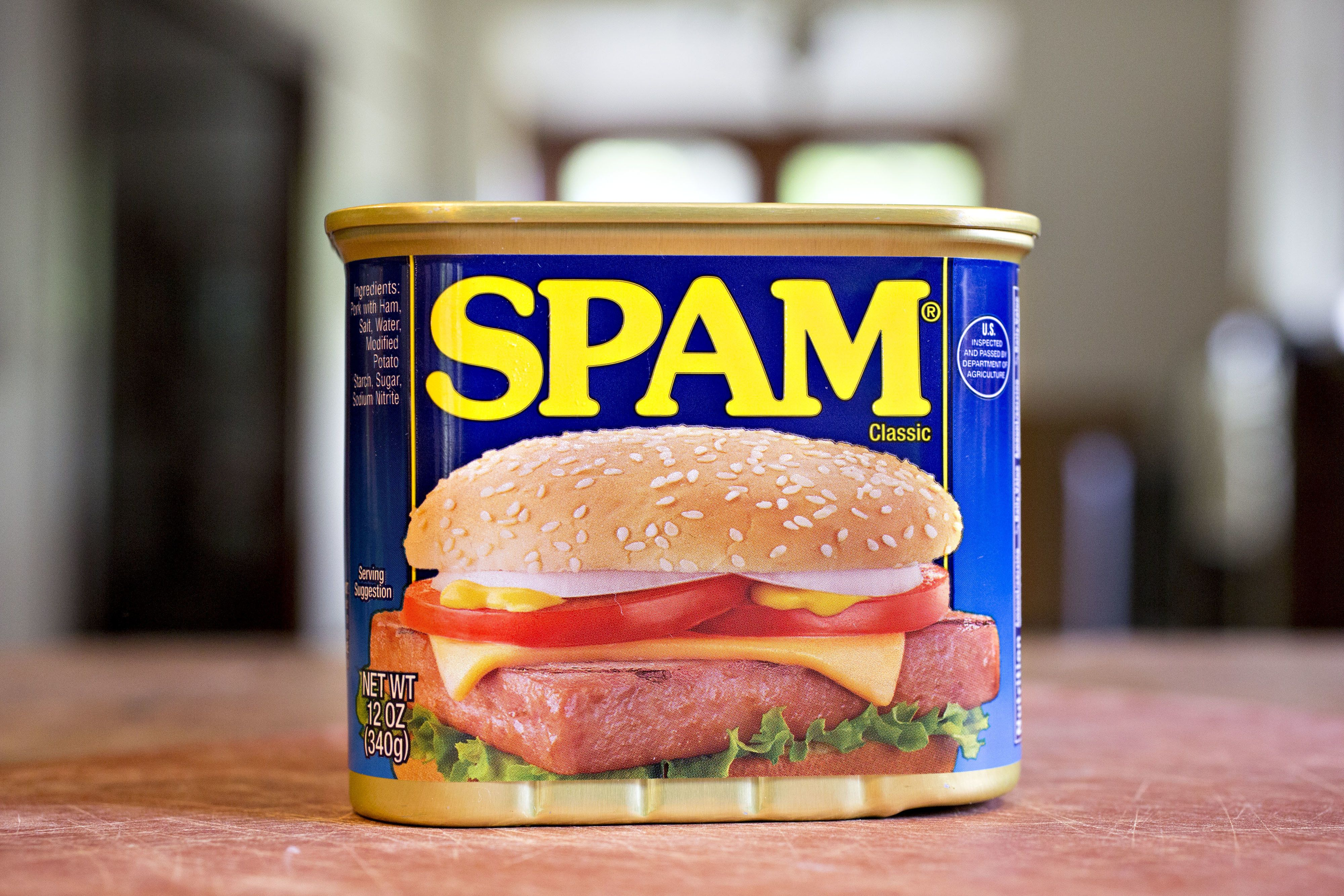 Horror as 228,000 pounds of SPAM is recalled