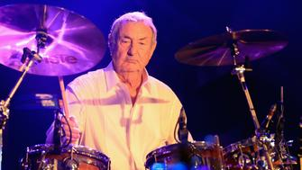 VIRGINIA WATER, ENGLAND - MAY 22:  Nick Mason of Pink Floyd perfoorms during An Evening With Mike Rutherford, The Mechanics and Friends at the  BMW PGA Championship at Wentworth on May 22, 2018 in Virginia Water, England.  (Photo by Andrew Redington/Getty Images)