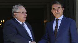Συνεχίζονται οι διαβουλεύσεις με την ΠΓΔΜ. Με τον Ντιμιτρόφ συναντάται στις Βρυξέλλες ο