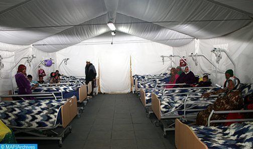 Le roi Mohammed VI ordonne le déploiement d'un hôpital de campagne à